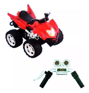4d Wheels System Cuatriciclo Con Manubrio De Simulacion
