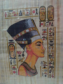 Quadro De Papiro Original Raridade Egípcio Antiguidade 54x44