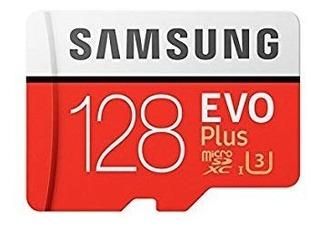 Cartão Micro Sd Samsung Evo Plus 128gb 4k Smartphone +brinde