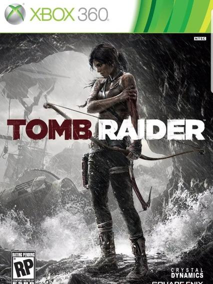 Tomb Raider Xbox 360 Mídia Física Pronta Entrega Original