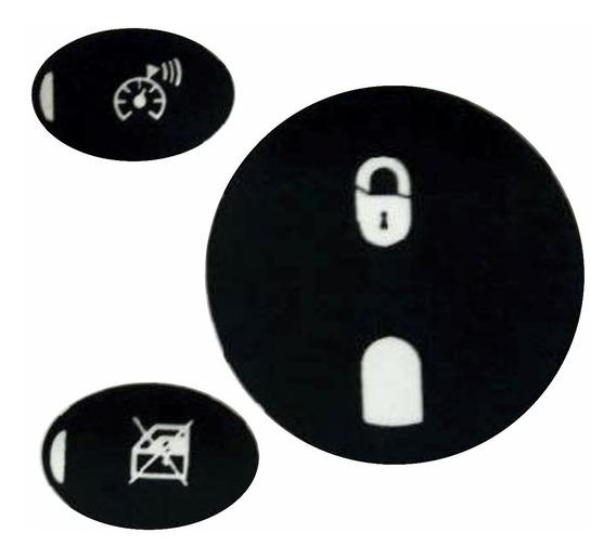 Adesivo Restauração Painel C3 Kit Para 3 Botões Alerta Cr