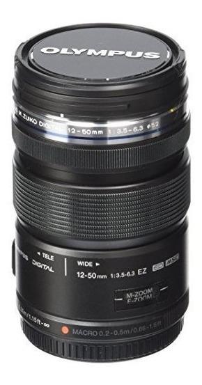 Olympus Ed 12-50mm M.zuiko Digital Ez Lente F3.5-6.3 (negro)