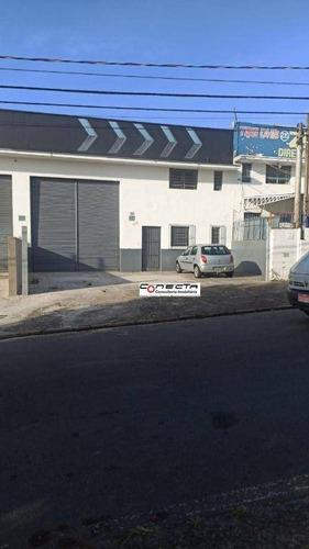 Imagem 1 de 1 de Galpão Para Alugar, 300 M² Por R$ 8.000,00/mês - Parque Da Figueira - Campinas/sp - Ga1189