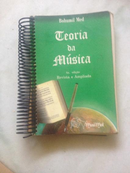 Livro Teoria Da Música 4a Edição Revista Eampliada