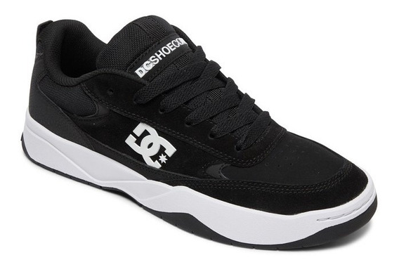 Zapatillas Dc Shoes Modelo Penza Negro Blanco Coleccion 2020