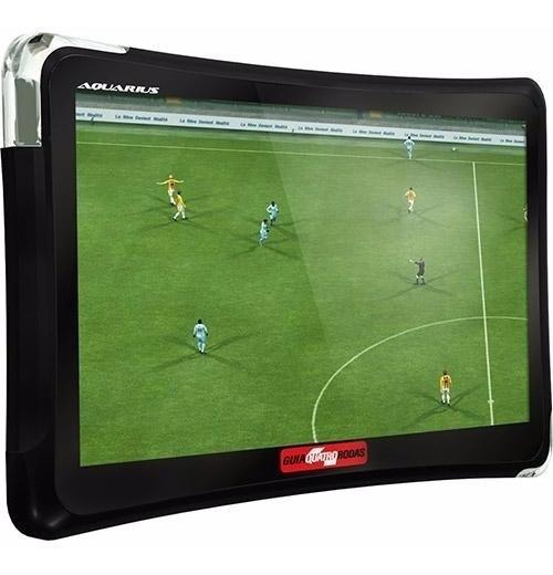 Gps Automotivo Aquarius Quatro Rodas 5 Tv Digital C/ Not Fis