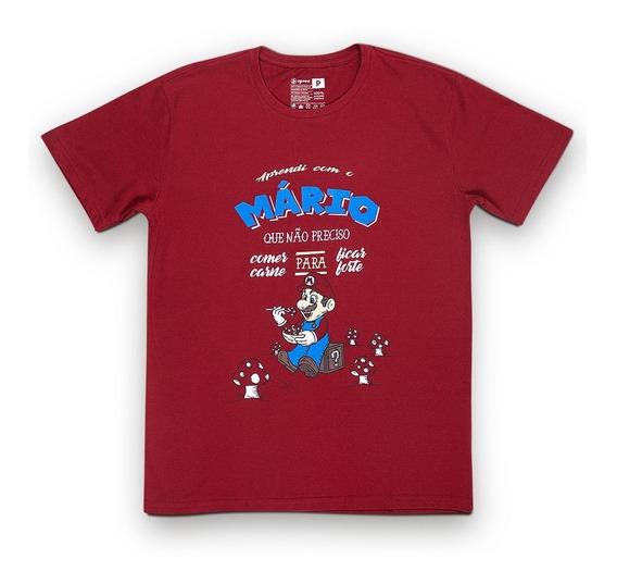 Camiseta Sustentável - Mário Vegano Unissex