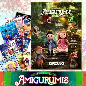 Kit Apostila Amigurumi Revista De 1 A 10 Círculo Receitas