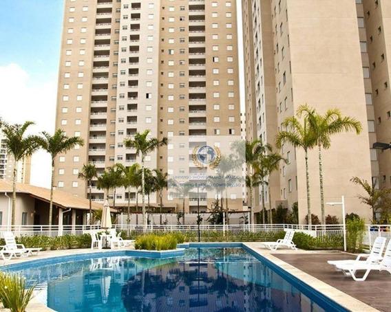 Apartamento Com 3 Dormitórios À Venda, 80 M² Por R$ 620.000 - Mansões Santo Antônio - Campinas/sp - Ap0546