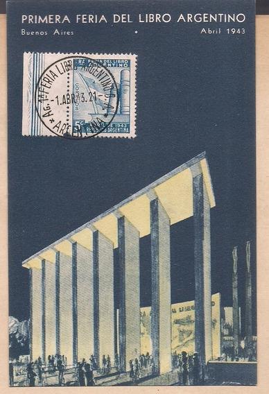 Feria Del Libro: Antigua Postal