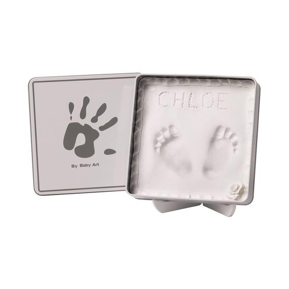 Kit Massa De Modelar Magic Box Baby Art White