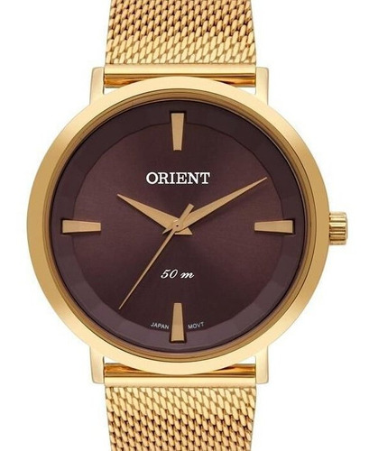 Relógio Orient Feminino Dourado Fgss0140 M1kx
