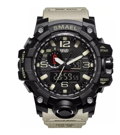 Relógio Smael Esportivo Militar Original - Caixa Metal