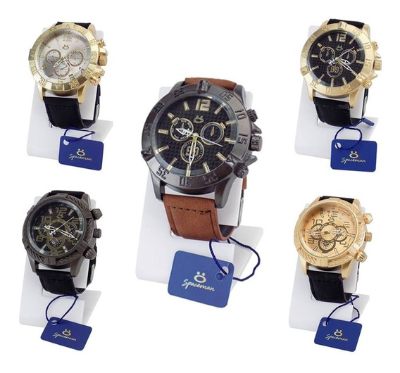 Kit 5 Relógio Masculino Original Atacado Revenda Garantia