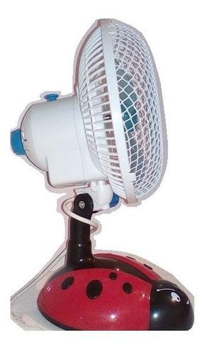 Ventilador Portatil De Mesa 11ov 2 Velocidades