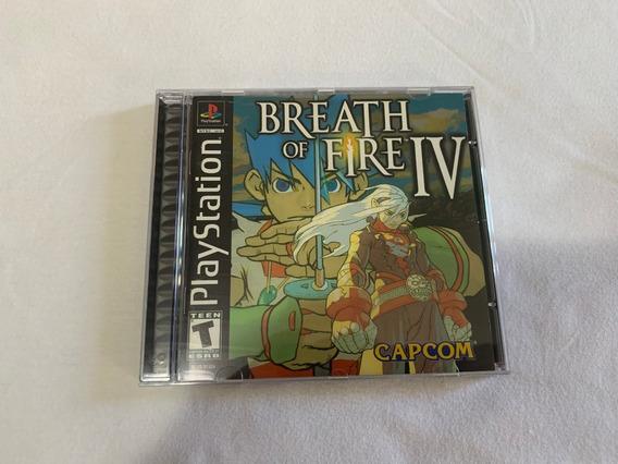 Breath Of Fire 4 Ps1 Original Completo