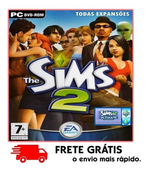 The Sims 2 + Todas Expansões Pc