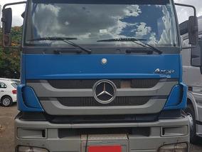 Axor 3344s - 2014 - Azul - Rodoforte Caminhoes