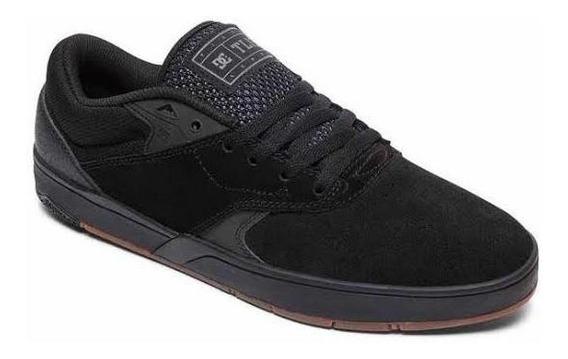 Tênis Dc Shoes Tiago S Imp All Black Original Frete Grátis