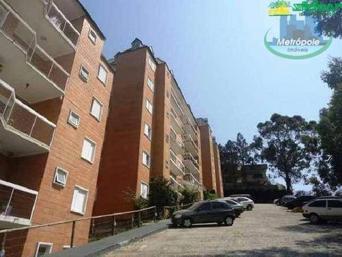 Apartamento À Venda, 80 M² Por R$ 250.000,00 - Parque Continental Iv - Guarulhos/sp - Ap1081
