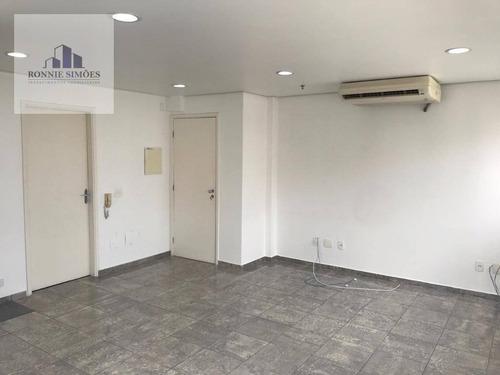 Imagem 1 de 30 de Sala Comercial Para Alugar Em Moema, Montreal Offices & Services, 1 Sala Bem Iluminada, Ar Condicionado, Copa, 1 Banheiro, 1 Vaga, 32 M², São Paulo. - Sa0563