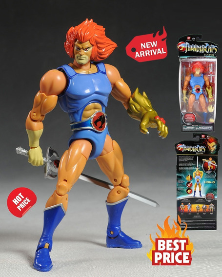 Thundercats Lion-o Figura Coleccionable Original Bandai 20cm