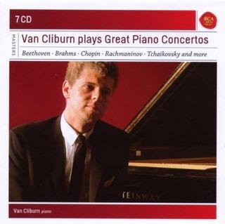 Van Cliburn Juega Great Piano Concertos (2014-03-25)