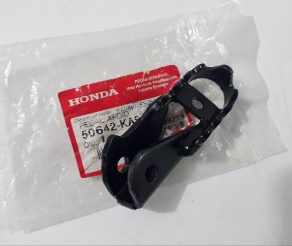 Pedal Apoio Esquerdo Nx 350 400 Xlx Original Honda *