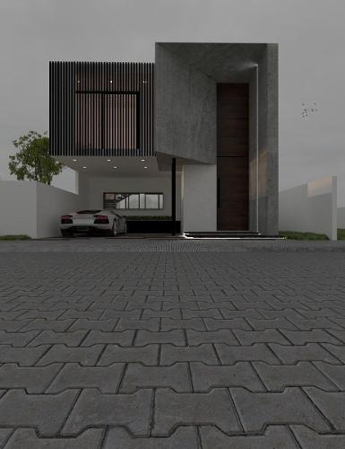 Casa En Cerritos Mazatlan, Fraccionamiento El Cielo Lote 27