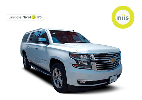 Imagen 1 de 15 de Chevrolet Suburban 2016 5.3 Lt Piel Banca Mt Blindado Niii