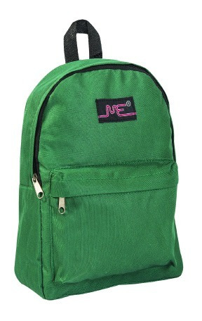 Mochila Escolar Mediana 15 Pulgadas Verde Con Bolsillo 3584