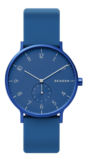 Reloj Unisex Skagen Aaren Kulor Skw6508 Color Azul