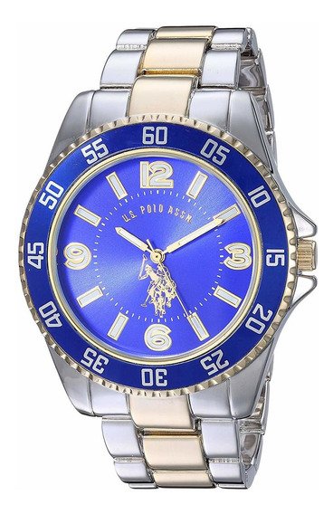 Relógio U.s. Polo Assn. Homem Masculino Quartz Esportivo