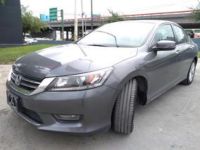 Honda Accord 3.5 Ex-l Sedan V6 Piel Abs Qc Cd Cvt 2013