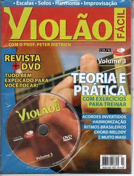 Curso Violão Fácil Vol.3 - Revista+dvd