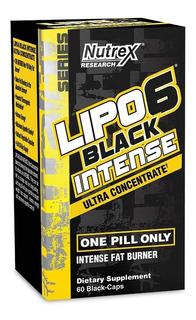 Nutrex Lipo 6 Black Uc Intense 60 Caps (60srvs)