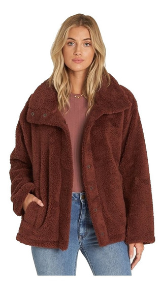 Campera Billabong Cozy Days Coco Berry Mujer J604sbco