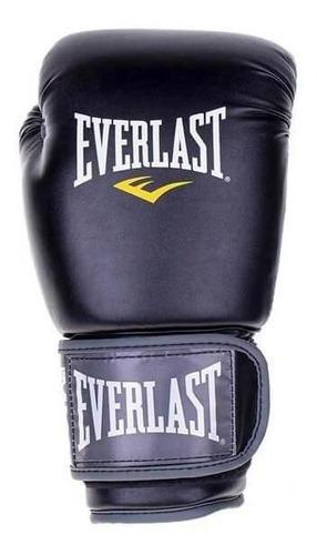 Luva Everlast Muay Thai Pro Style 12oz Preto
