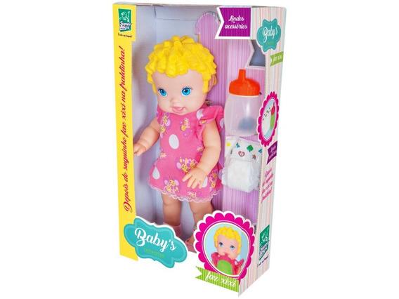 Boneca Baby Faz Xixi Com Fraldinha - Super Toys