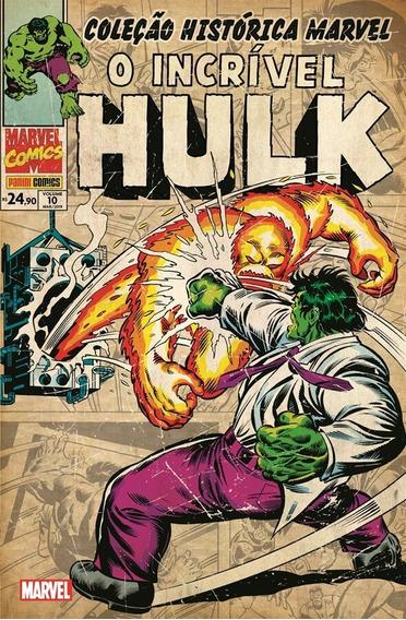 Coleção Histórica Marvel O Incrível Hulk Volume 10 Panini