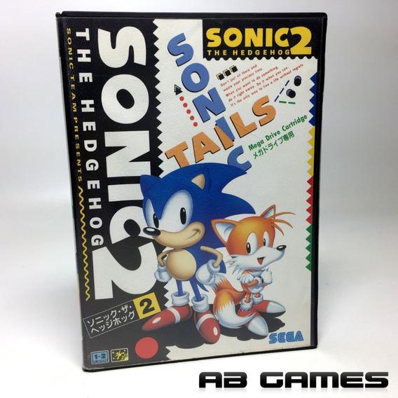 Sonic The Hedgehog 2 Japonês Original Mega Drive