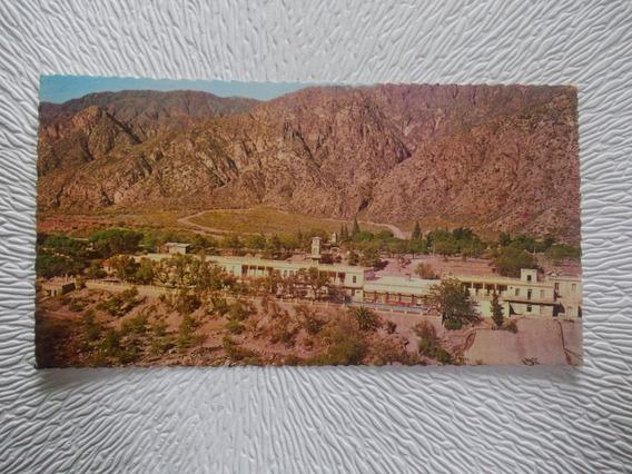 8308- Postal Mendoza, Hotel Termas De Cacheuta