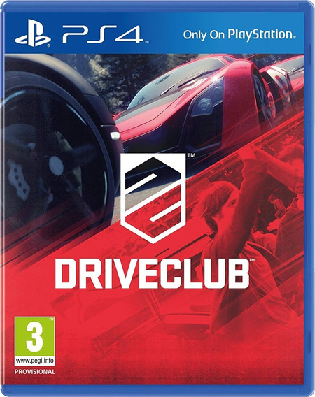Driveclub Ps4 Mídia Física Novo Lacrado Legendado Português