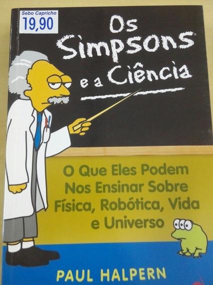 Os Simpsons E A Ciência - Paul Halpern
