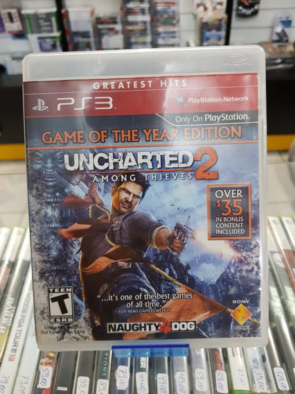 Uncharted 2 Ps4 Seminovo