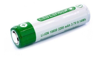 Pila Icr 18650 Led Lenser M7r Li-ion 1,85x6,5cm 2200mah 7704