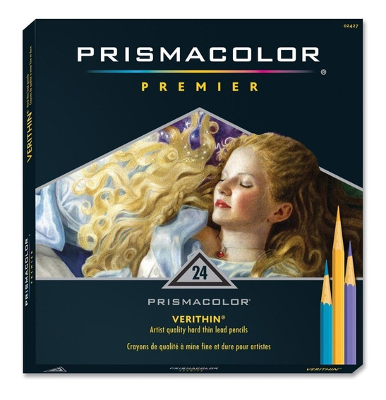 Lapices Prismacolor Verithin 24 Unidades Genuino Usa