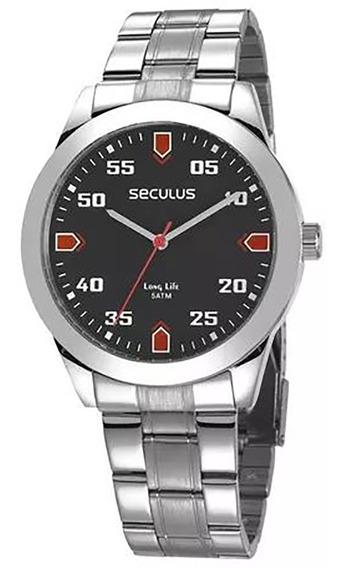 Relógio Seculus Long Life Masculino 28976g0svna2