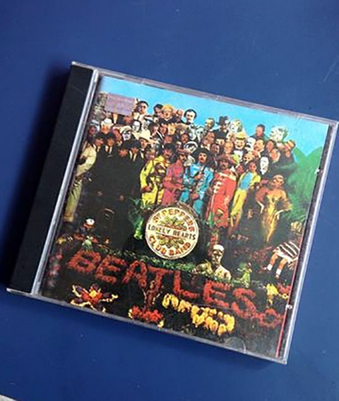 Beatles Formação Original Sgt Peppers Crowley Capa Cd Rock V