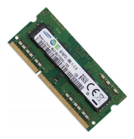 Memória Samsung 4gb Ddr3 1600mhz Pc3l 12800s 1rx8 P Notebook